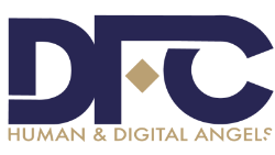 DFC – Human and digital angels Logo